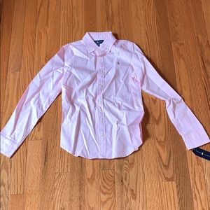 Girls polo Oxford shirt